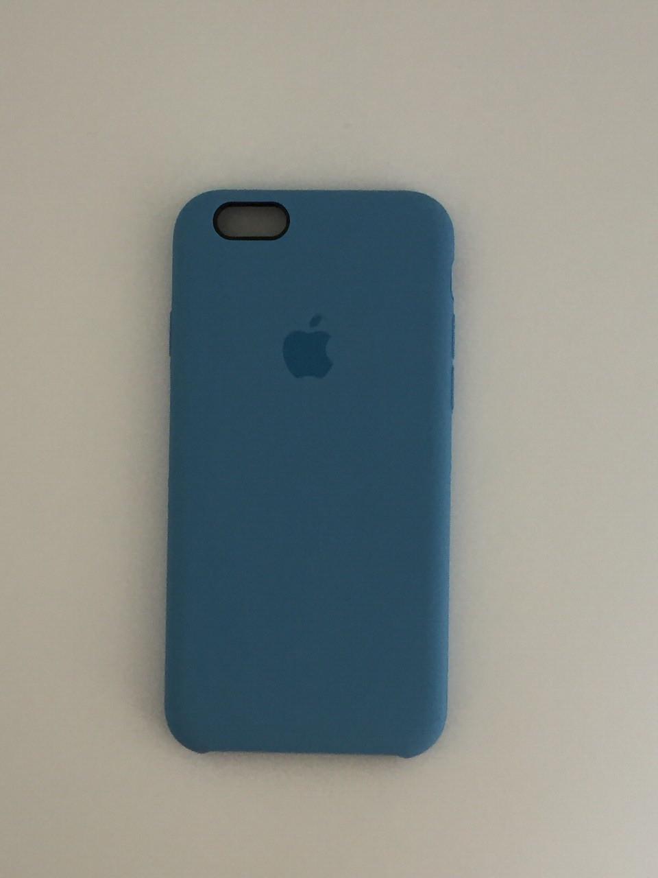"""Чехол Silicon iPhone 6 Plus - """"Лазурь №24"""""""