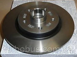 Тормозной диск задний на Рено Кенго II 08> (с подшипником) - Renault (Оригинал) 432004327R