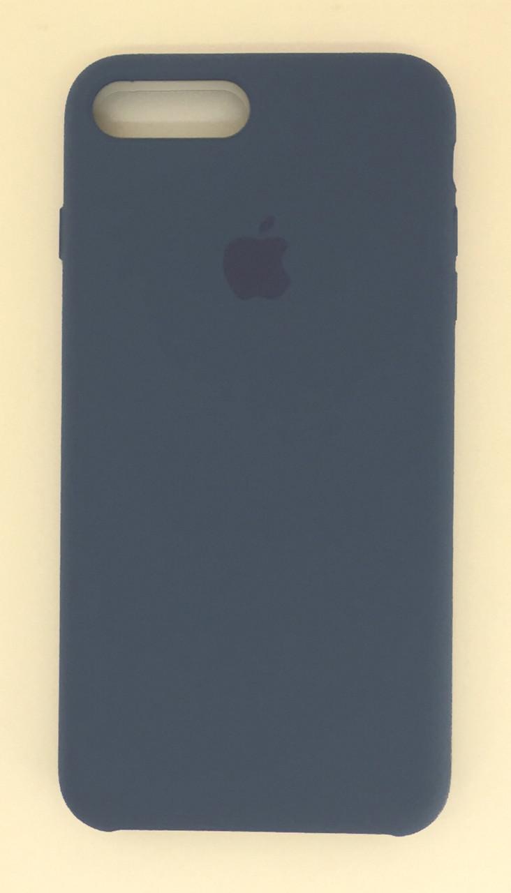 "Чехол Silicon iPhone 6 Plus - ""Alaska blue №57"""