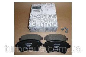 Тормозные колодки передние на Рено Кенго II (2008>) RENAULT (Оригинал) - 41 06 013 34R