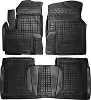 Коврики в салон Lifan X60 2011- черный, кт - 4шт