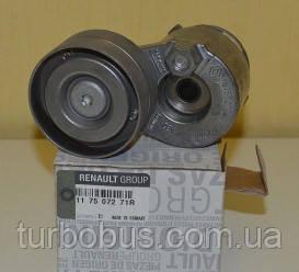 Натяжитель ремня генератора на Рено Мастер 1.9dTi +1.9dCi (+AC) — Renault (Оригинал) - 117507271R