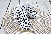 Пинетки-сапожки, Черные звезды, фото 1