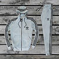 Спортивный костюм мужской Adidas Originals Х Grey весенний осенний ЛЮКС качество