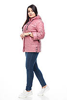 Лёгкая весенняя осенняя женская куртка большого размера размер 48-60, фото 2