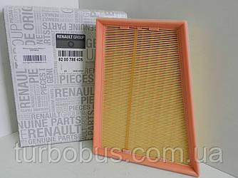 Фильтр воздушный на Рено Кенго II 1.5 dCi (2008> ) RENAULT (оригинал) 8200788425