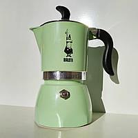 Гейзерная кофеварка Bialetti Fiammetta Mint (3 чашки - 170 мл)