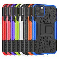 PC + TPU чехол Armor для Apple iPhone 11 (8 кольорів), фото 1