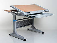 Стол для школьника для дома Mealux Tokyo-2 Beech с ящиком регулируемый