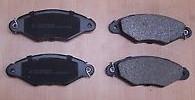Тормозные колодки передние на Рено Кенго (97-2008) - TRW (Германия) - GDB1321