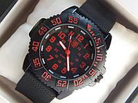 Мужские кварцевые наручные часы Luminox на каучуковом ремешке, фото 1