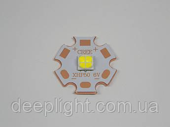 Светодиод Cree XHP50 18W 5000K для фонарей,фар,светильников