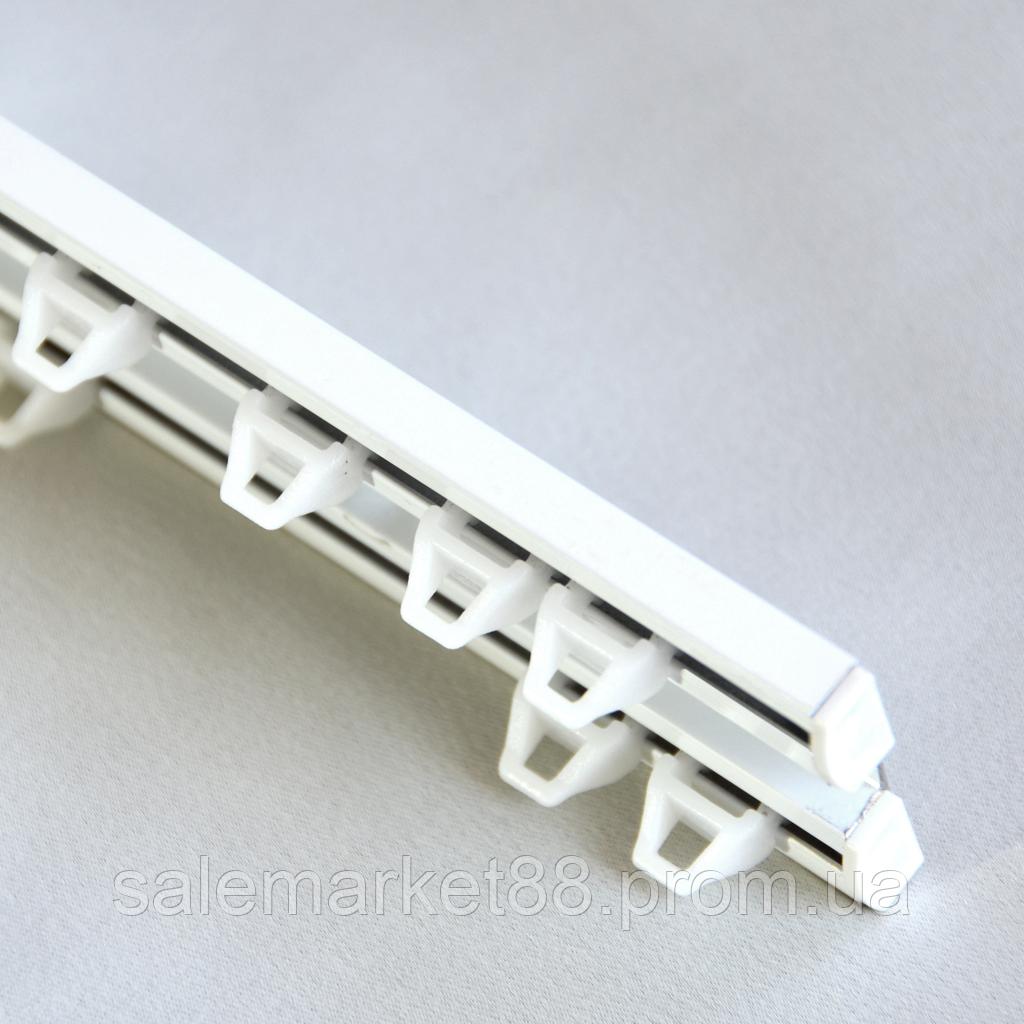 Карниз для штор Комплект алюминиевый ArtHome двухрядный