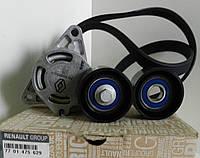 Ремень генератора + 2 ролика на Рено Трафик 2003-> 2.5dCi (135 л.с. -AC) — Renault - 7701475629