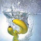 Журнальный стол круглый с полкой Banana стеклянный, фото 3
