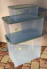 Набор Smart Box Practice 3 шт прозрачные с цветной крышкой, фото 3