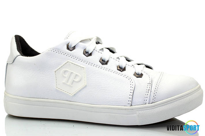 Спортивные туфли Philipp Plein (белый), фото 2