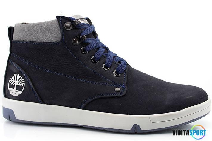 Зимние ботинки Timberland (t-32 синие), фото 2
