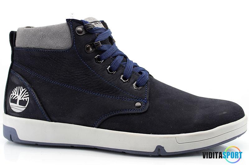 Зимние ботинки Timberland (t-32 синие)