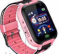 Смарт часы для детей Z3/A25S Smart Baby Watch c GPS трекером и сим картой цвет розовый