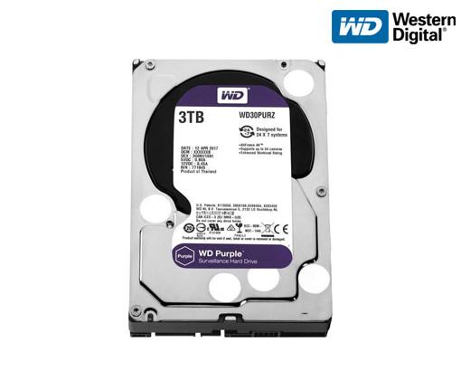 Жесткий диск Western Digital Purple 3TB 64MB WD30PURZ