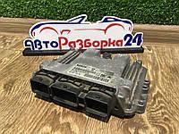 Блок управления двигателем ЭБУ 1.6 HDI Citroen Berlingo Ситроен Берлинго 2003 - 2008, 9653958980