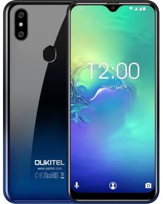 "Смартфон OUKITEL C15 Pro 2/16Gb Blue, 8+2/5Мп, Helio A22, 2sim, 6.088"" IPS, 3200мАч, 4 ядра, 4G (LTE)"