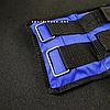 """Утяжелители для рук и ног """"HF ЭЛИТ"""" синий 7 кг (2 шт по 3.5 кг), фото 2"""