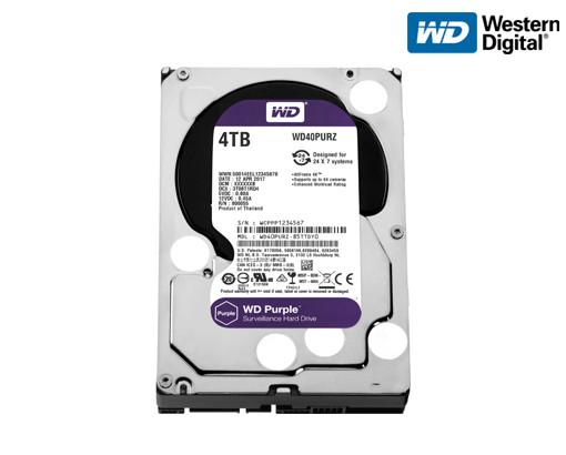 Жесткий диск Western Digital Purple 4TB 64MB WD40PURZ