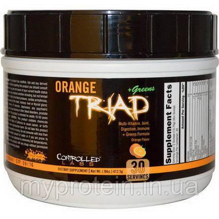 Витамины и минералы Orange Triad + Greens (412,5 g )