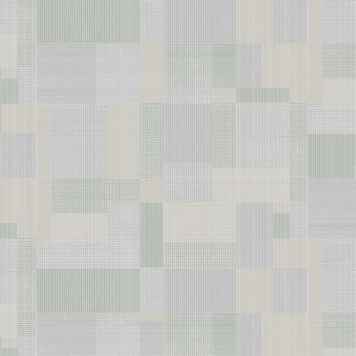 Обои акриловые на бумажной основе Алеа серо-салатовый 33712