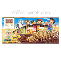 Вафлі з какао-кремом Feiny Biscuits Wafers Choco 225g (5*45)