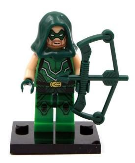 Зелёная стрела Green Arrow DC Comics Super Heroes Аналог лего