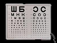 Осветитель таблиц для проверки зрения АР-2М (аппарат Ротта)