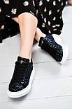 Женские кроссовки Alexand1r McQueen - Glitter Platform 36-40рр. Живое фото. Люкс реплика, фото 3
