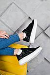 Женские кроссовки Alexand1r McQueen - Glitter Platform 36-40рр. Живое фото. Люкс реплика, фото 5