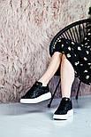 Женские кроссовки Alexand1r McQueen - Glitter Platform 36-40рр. Живое фото. Люкс реплика, фото 6