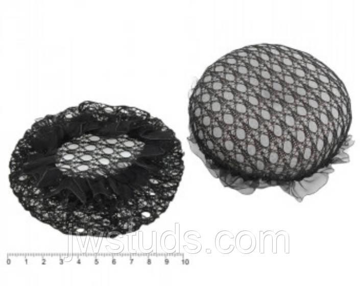 Сеточка для волос на гульку 10 см