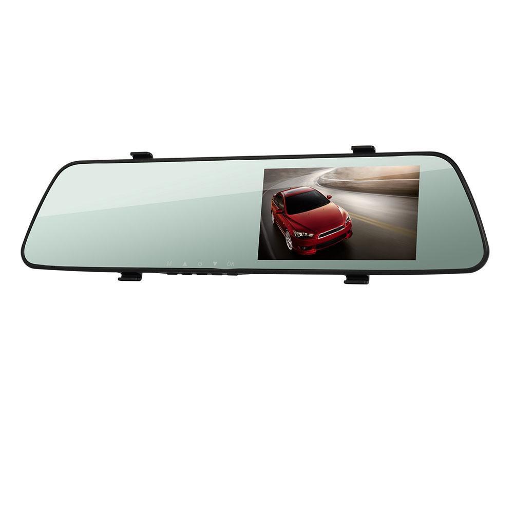 """Авторегистратор зеркало DVR L1018 2 камеры 1920x1080 P экран 4.3"""""""