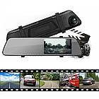 """Авторегистратор зеркало DVR L1018 2 камеры 1920x1080 P экран 4.3"""", фото 4"""