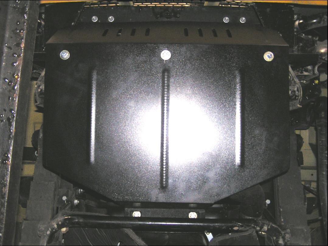 Защита двигателя Ford Cargo 2004-2012 V-всі  радіатор