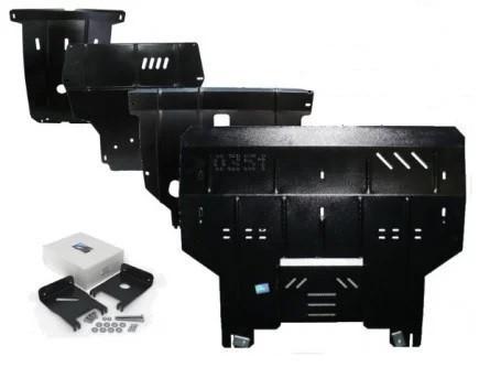 Защита двигателя Ford KA+ 2016- V-1,2Duratec МКПП/збірка Індія для Європейського ринку двигун, КПП, радіатор