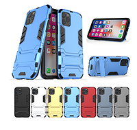 PC + TPU чехол Metal armor для  Apple iPhone 11 Pro Max (7 цветов), фото 1