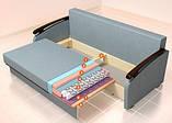 Прямой диван Оскар Константа, фото 8