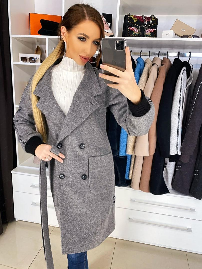 Женское модное шерстяное пальто от 42 до 50 размера РАЗНЫЕ ЦВЕТА