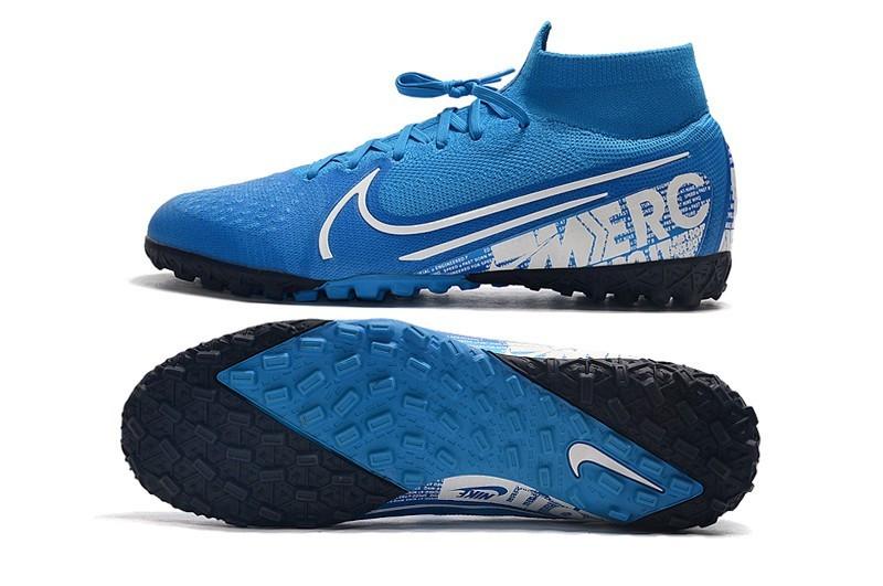 Сороконожки Nike SuperflyX VII Elite TF blue new