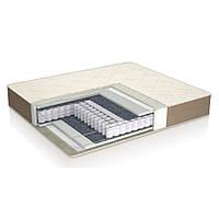 Двухсторонний ортопедический матрас на кровать Ideal plus закрытый пружинный блок 80х190х20