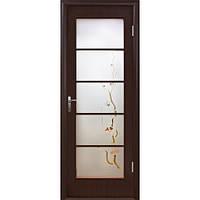 Дверное полотно Новый стиль Виктория Виктория венге 3Д с рисунком Р3