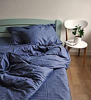 Комплект постельного белья семейный страйп-сатин 100% хлопок