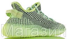 Мужские кроссовки adidas Yeezy Boost 350 V2 Yeezreel Reflective FW5191 Адидас Изи Буст 350 салатовые, фото 3